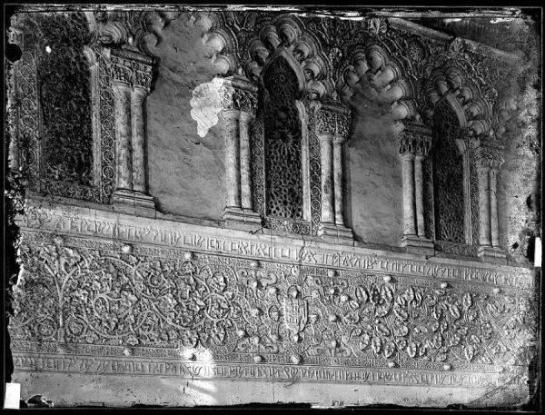 1775 - Vista interior lateral de la iglesia del Tránsito_2