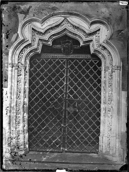 2246 - Catedral de Toledo_Puerta del obispo Don Pedro Tenorio, en el claustro_2
