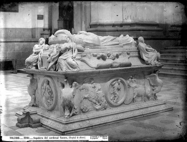 2261 - Sepulcro del Cardenal Tavera (Hospital de Afuera)