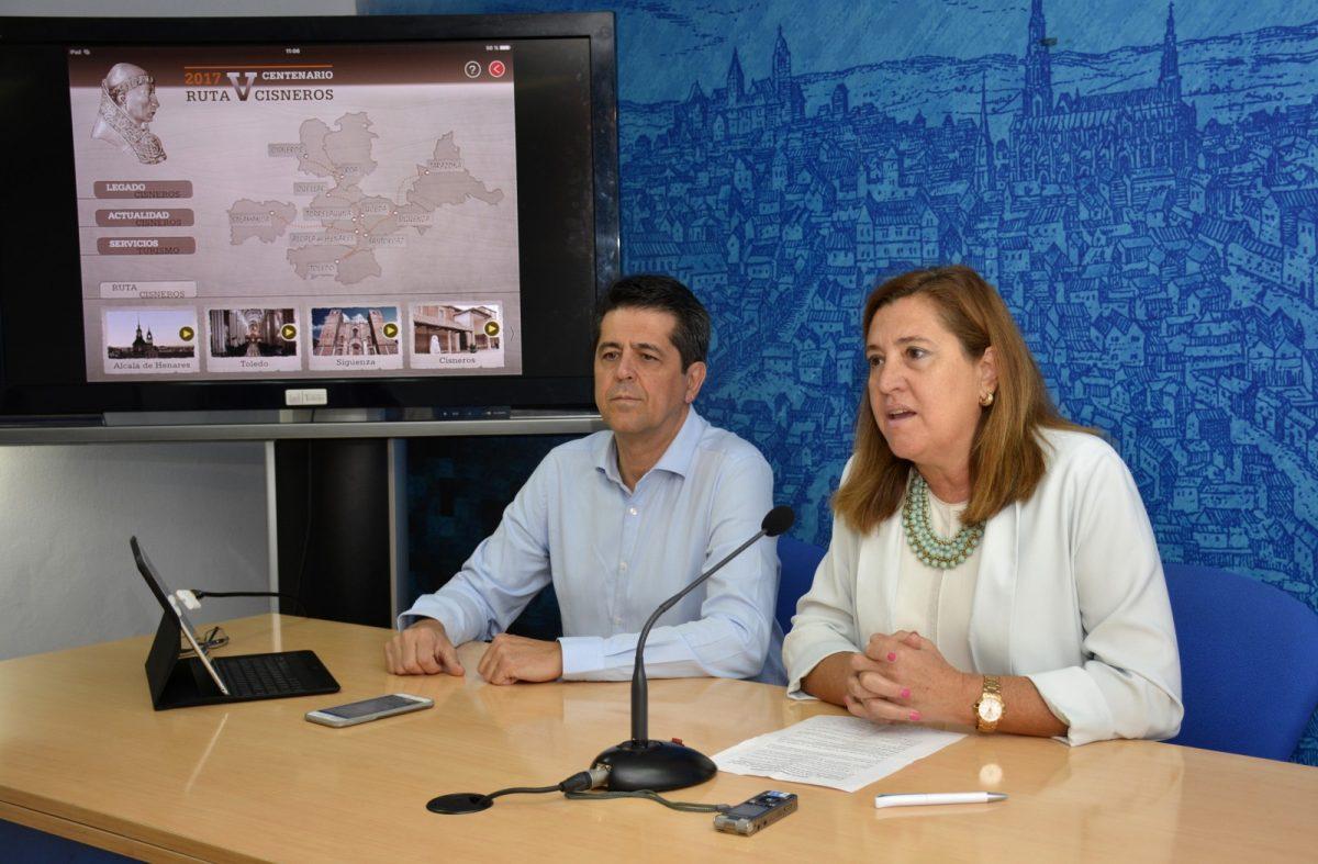 http://www.toledo.es/wp-content/uploads/2017/10/app-cisneros-01--1200x787.jpg. Toledo estrena una nueva aplicación para móviles que permite visitar el interior de los espacios cisnerianos