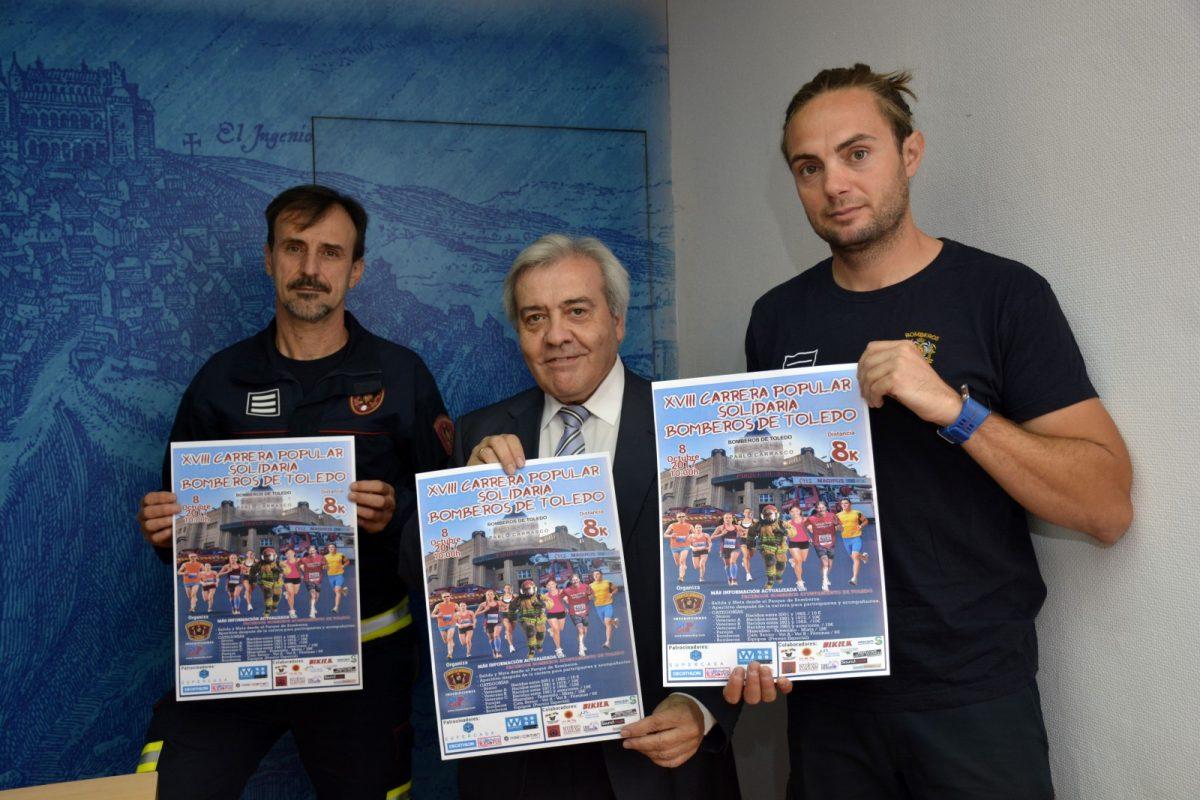 http://www.toledo.es/wp-content/uploads/2017/10/carrera_bomberos-1200x800.jpg. Los Bomberos animan a participar a los toledanos el domingo en la XVIII Carrera Popular a favor de la ONG 'Socorro de los Pobres'