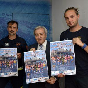 Los Bomberos animan a participar a los toledanos el domingo en la XVIII Carrera Popular a favor de la ONG 'Socorro de los Pobres'
