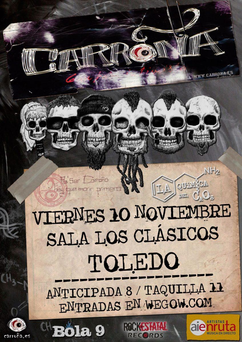 http://www.toledo.es/wp-content/uploads/2017/10/carrona-10nov-toledo-848x1200.jpg. Carroña. Artistas en Ruta