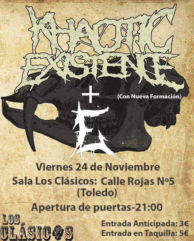 http://www.toledo.es/wp-content/uploads/2017/10/cartel-24-de-noviembre.jpg. Khaotic Existence + E