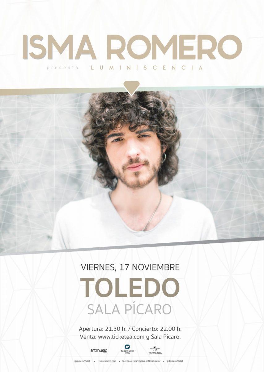 http://www.toledo.es/wp-content/uploads/2017/10/cartel-ismaromerotoledo-854x1200.jpg. Isma Romero