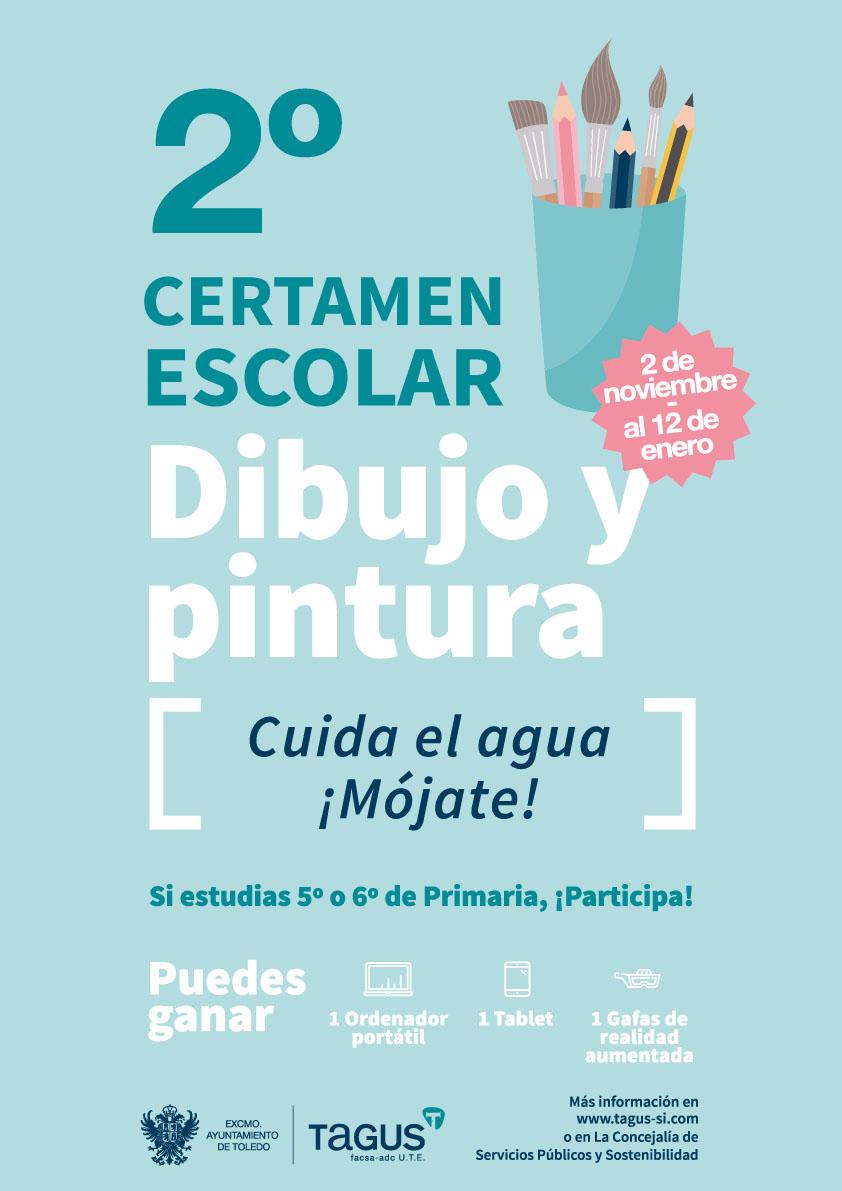 http://www.toledo.es/wp-content/uploads/2017/10/cartel_certamen_dibujo_tagus.jpg. El Ayuntamiento y TAGUS convocan un nuevo concurso de dibujo para concienciar a escolares sobre el cuidado del agua