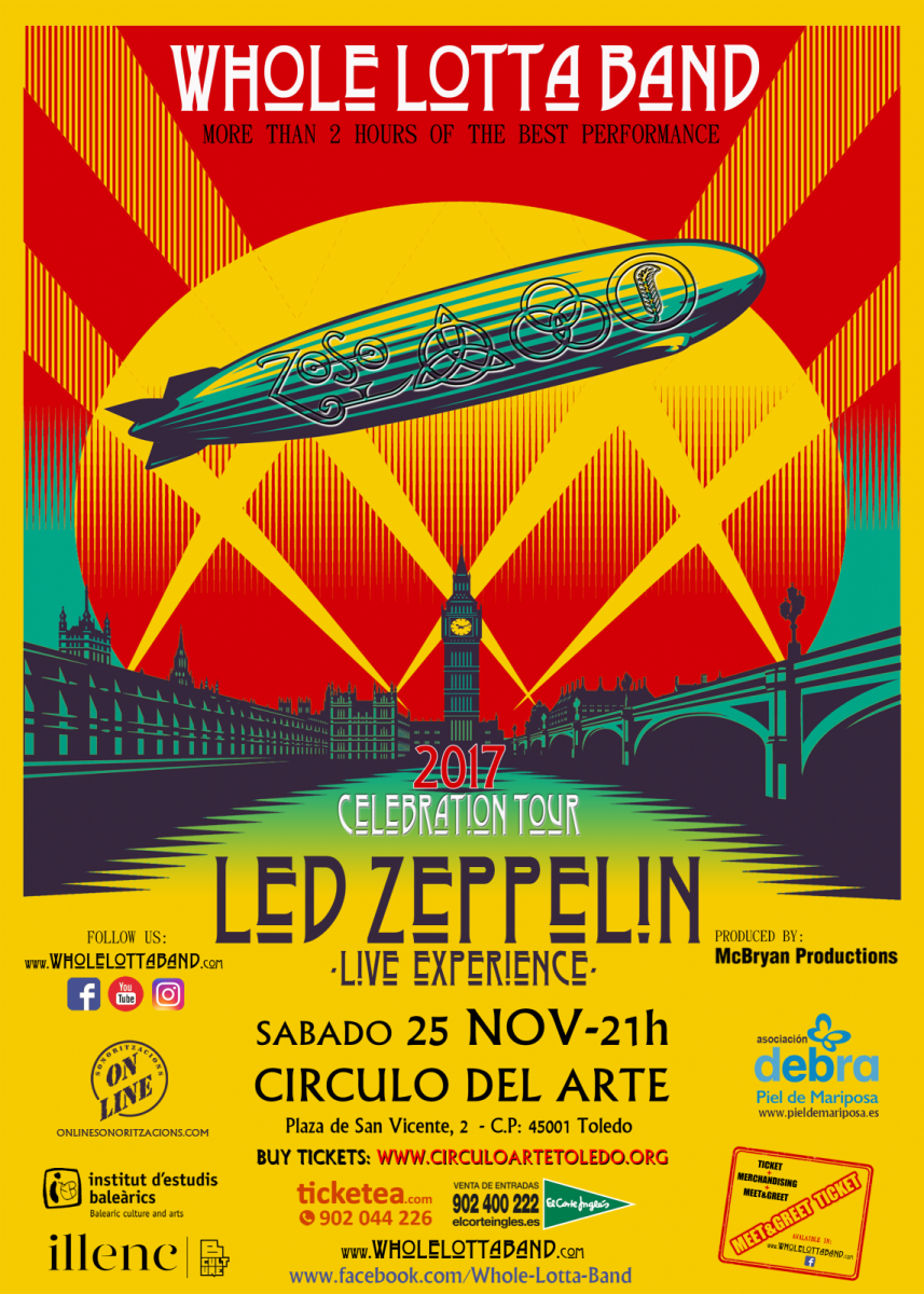 http://www.toledo.es/wp-content/uploads/2017/10/circulo-del-arte-857x1200.png. Led Zeppelin. Live Experience