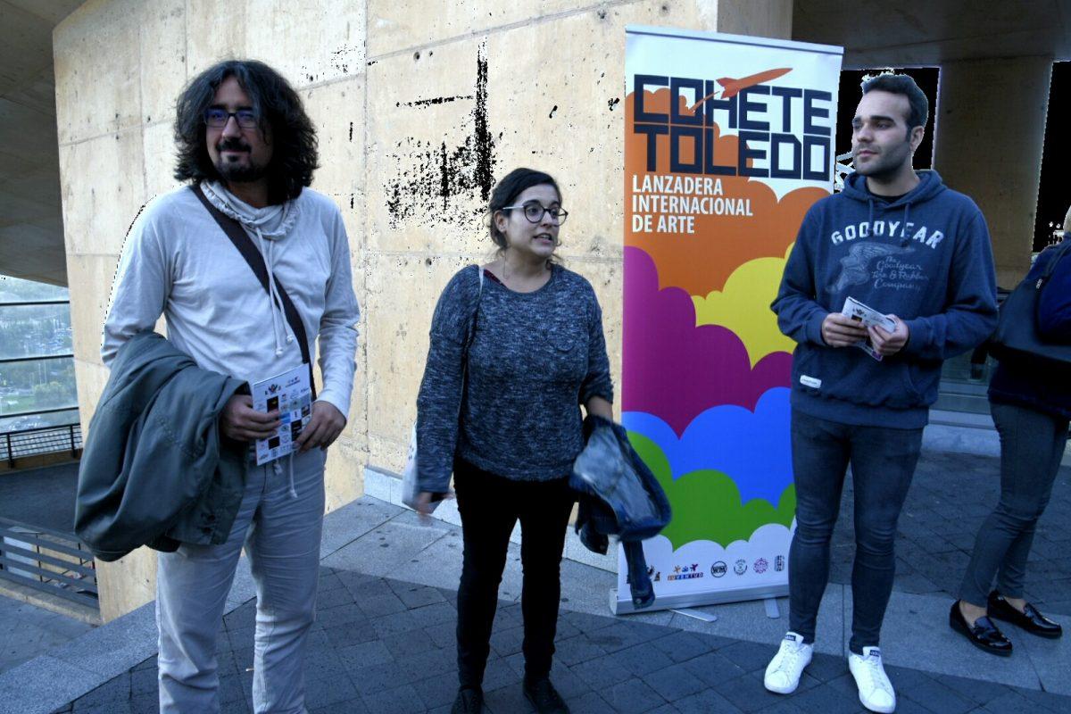 https://www.toledo.es/wp-content/uploads/2017/10/cohete01-1200x800.jpg. Performances y arte en acción, plato fuerte del último sábado del Festival 'Cohete Toledo' que dará a conocer a sus ganadores