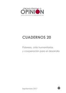 Pobreza, crisis humanitarias y cooperación para el desarrollo