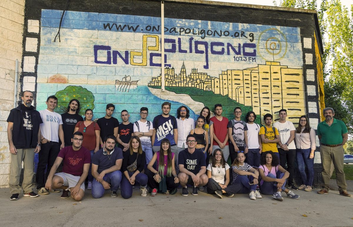 Los talleres de radio del Ayuntamiento y Onda Polígono cumplen diez años como alternativa de ocio y formación juvenil