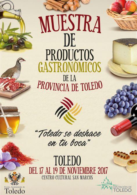 http://www.toledo.es/wp-content/uploads/2017/10/feria-productos.jpg. Muestra de Productos Gastronómicos de la Provincia de Toledo