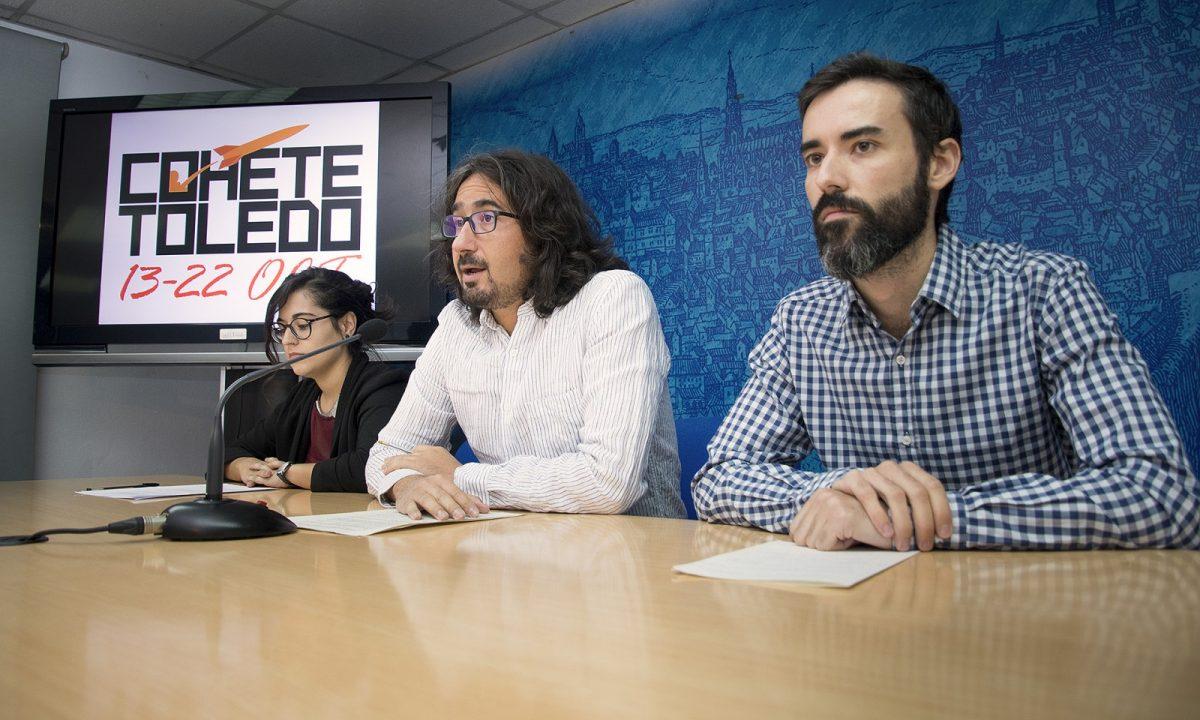 https://www.toledo.es/wp-content/uploads/2017/10/festival_cohete-01-1200x720.jpg. El festival 'Cohete Toledo' congregará a más de 50 artistas contemporáneos de arte urbano del 13 al 22 de octubre