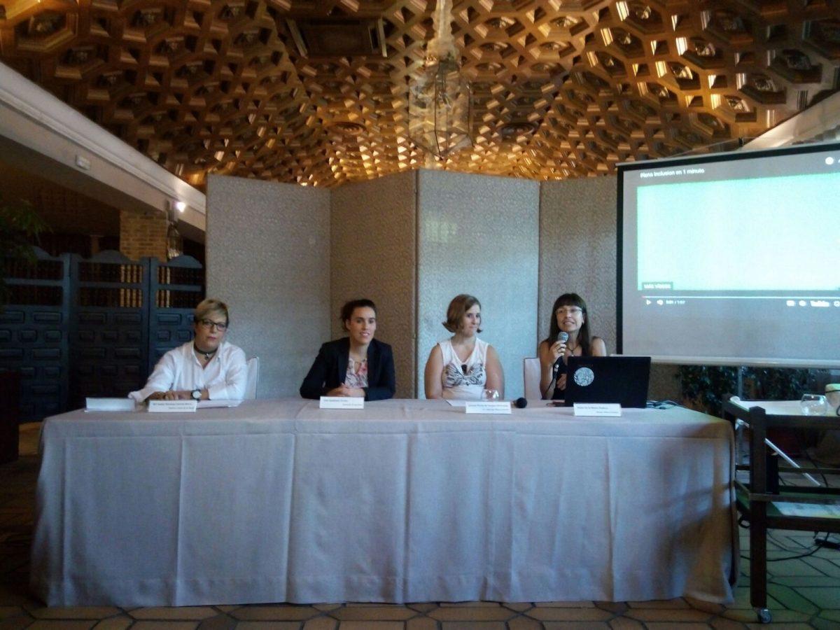 http://www.toledo.es/wp-content/uploads/2017/10/ines-sandoval-conferencia-plena-inclusion-1200x900.jpg. El Ayuntamiento muestra su compromiso con las políticas sociales y de empleo para mujeres con capacidades diferentes