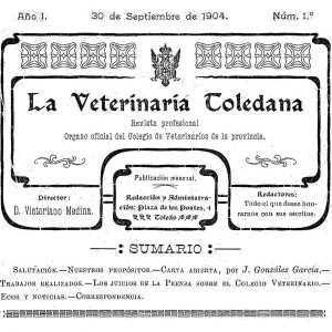 a Veterinaria Toledana : In memoriam de Santiago Medina Díaz-Marta