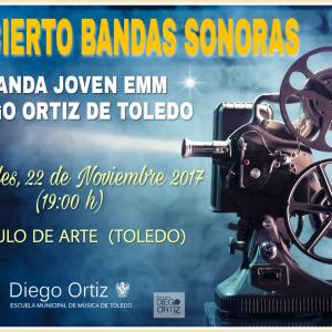 """FESTIVAL DE CINE CIBRA: CONCIERTO """"MUSICA DE CINE"""" ."""