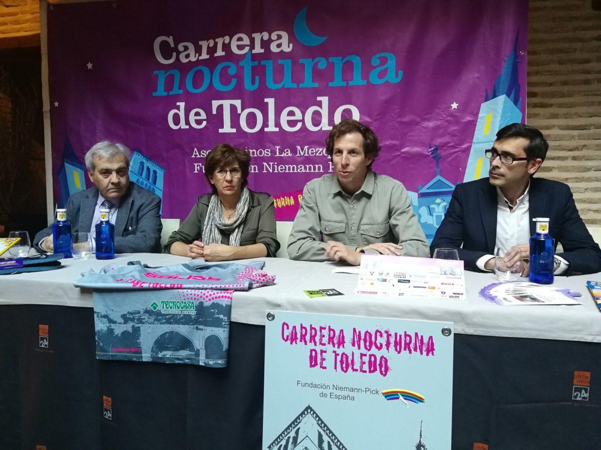 'La Nocturna de Toledo' celebra este sábado diez ediciones de solidaridad y deporte con más de 3.000 participantes inscritos