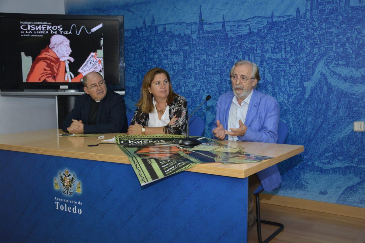 http://www.toledo.es/wp-content/uploads/2017/10/presentacion-obra-cisneros-1200x800.jpg. El Ayuntamiento promueve el V Centenario del cardenal Cisneros con teatro este domingo en el claustro de la Catedral Primada