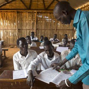 """Conflicto en Sudán del Sur: """"La educación me dará una vida mejor"""""""