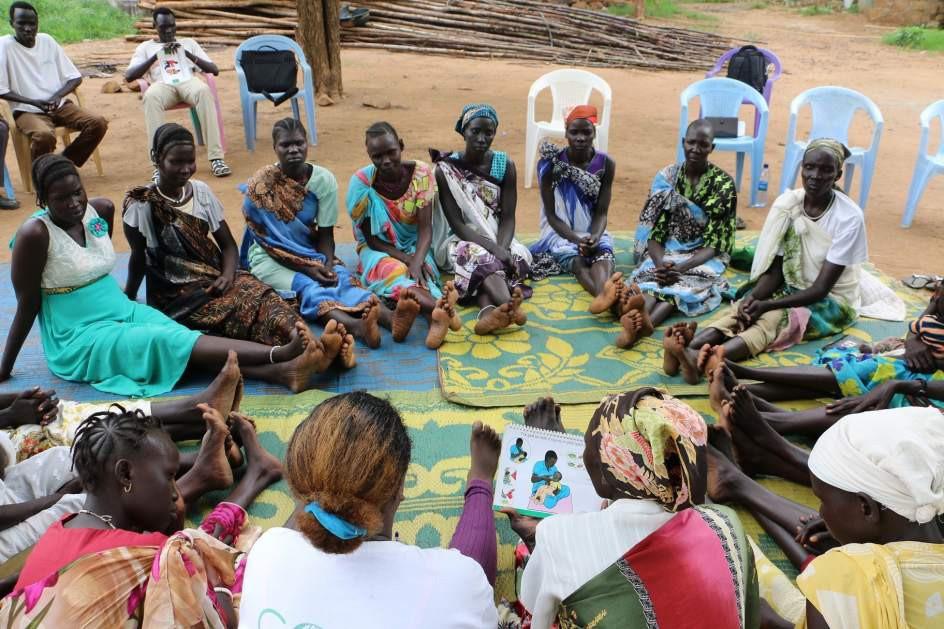 La lucha contra la malnutrición en los campos de refugiados