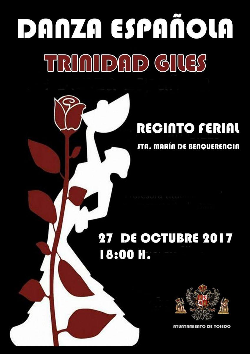 """https://www.toledo.es/wp-content/uploads/2017/10/trinidad-giles-848x1200.jpg. Espectáculo de Danza Española """"Trinidad Giles"""""""