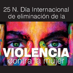 5N Día Internacional de eliminación de la violencia contra la mujer