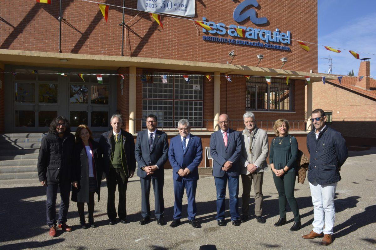https://www.toledo.es/wp-content/uploads/2017/11/50-anos-azarquiel-1200x800.jpg. El Ayuntamiento celebra los 50 años de vida del IES Azarquiel y destaca su competitividad formativa referente en Toledo