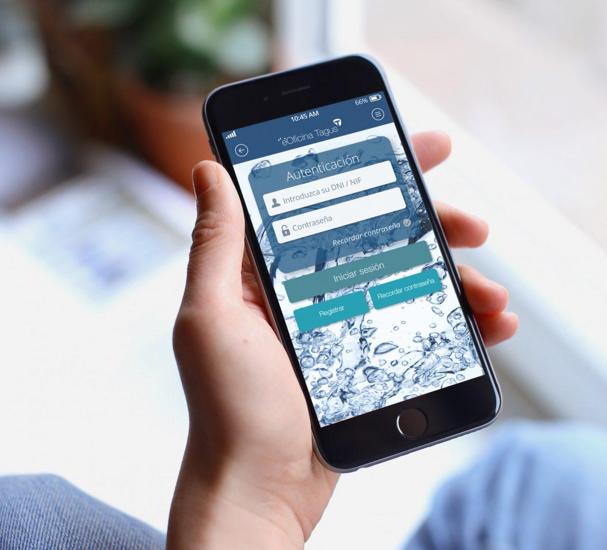 El Ayuntamiento y Tagus acercan la gestión del servicio del agua a los usuarios con una novedosa app para smartphones