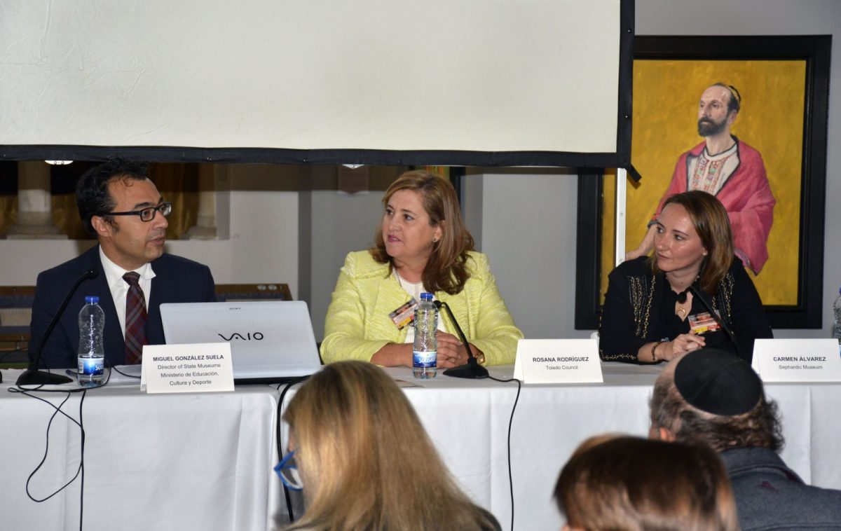 Se inaugura la Conferencia Anual de los Museos Judíos de Europa, que por primera vez se celebra en Toledo