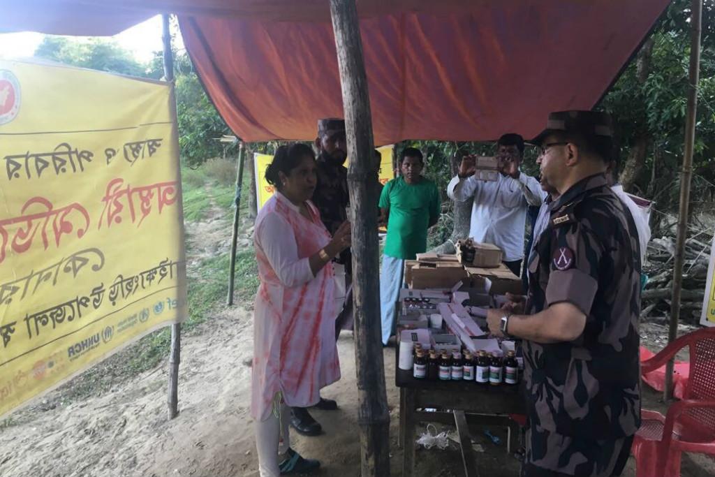 Las mujeres y niñas rohingyas quieren que el mundo conozca su sufrimiento