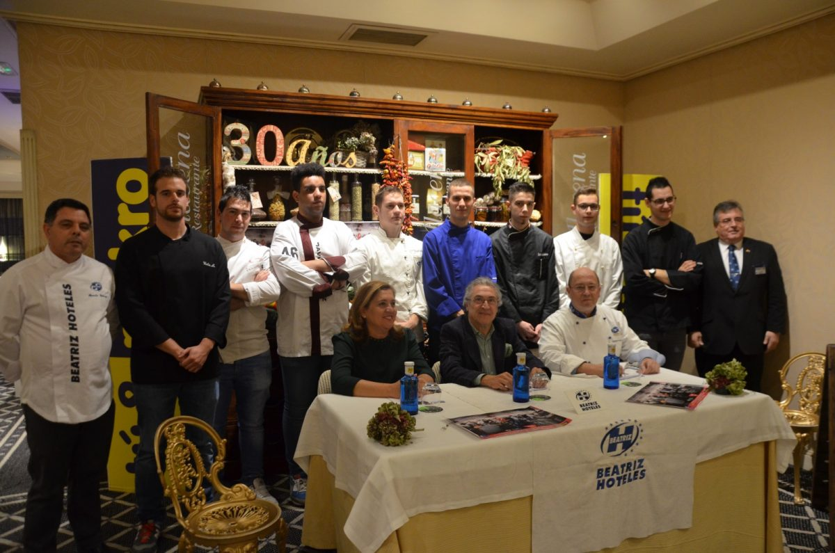 El Ayuntamiento respalda la 'Cena Jóvenes Promesas' que alumnos de hostelería ofrecerán el 1 de diciembre en 'La Alacena' del Beatriz