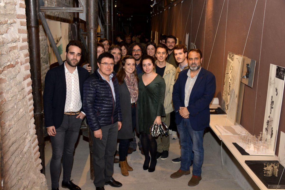 Los 'gangos' para el río Tajo que proponen los alumnos de la Escuela de Arquitectura ya se pueden visitar en la Cámara Bufa