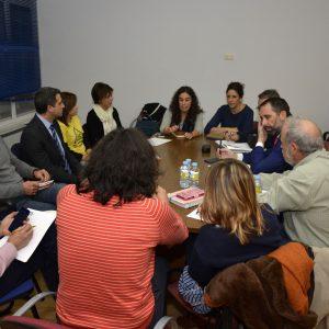 El Gobierno local informa de los compromisos adquiridos con el amianto en el grupo de trabajo constituido hoy con los vecinos