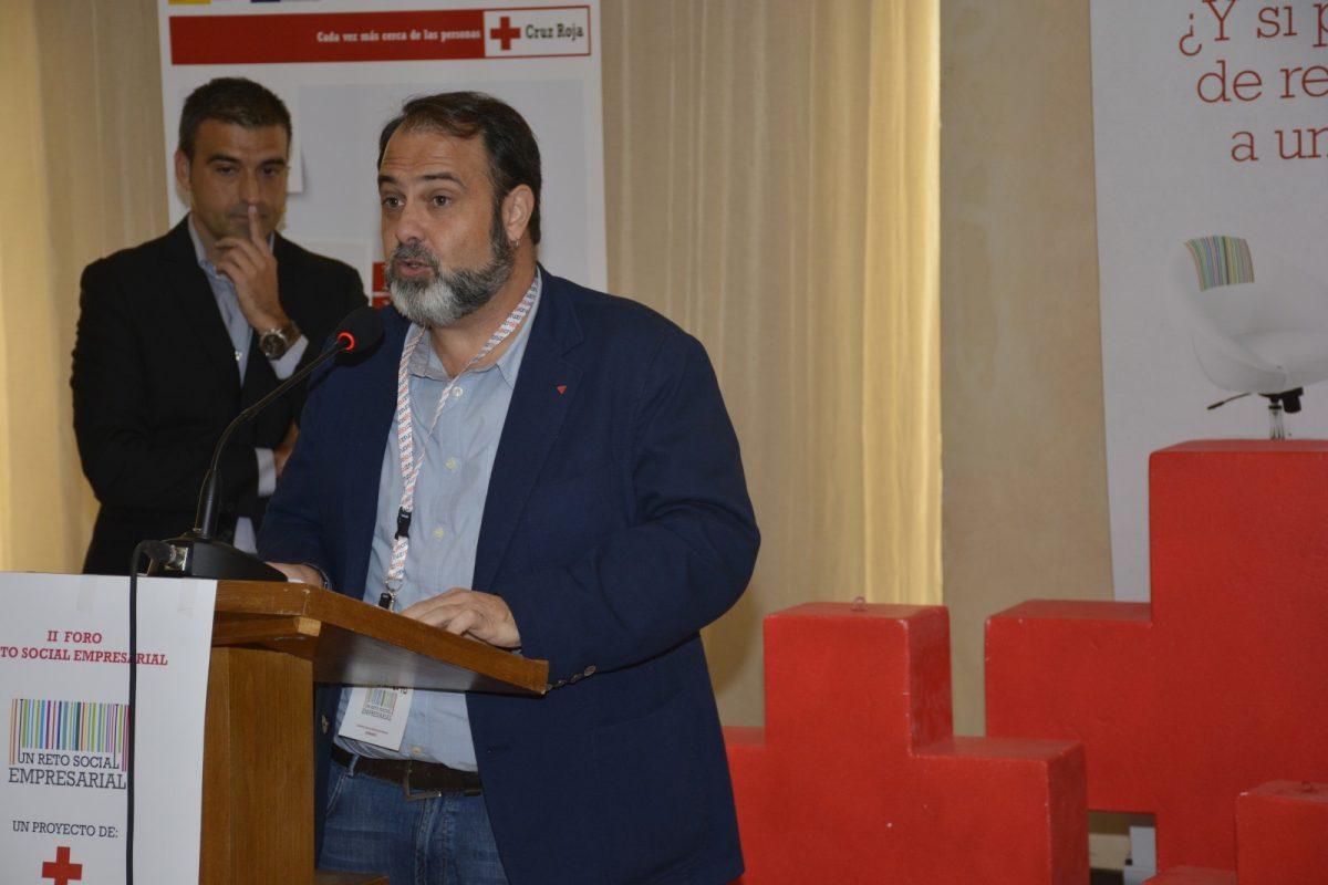 El Ayuntamiento muestra su compromiso con la inserción laboral en igualdad en el II Foro Reto Social Empresarial de Cruz Roja