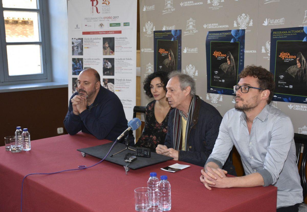 La Compañía Nacional de Teatro Clásico recupera 'La Judía de Toledo' en el Teatro de Rojas los días 24 y 25 de noviembre