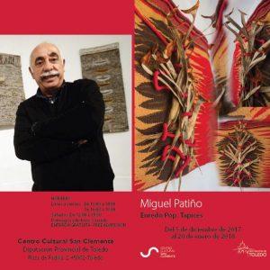 Exposición Miguel Patiño Enredo Pop. Tapices