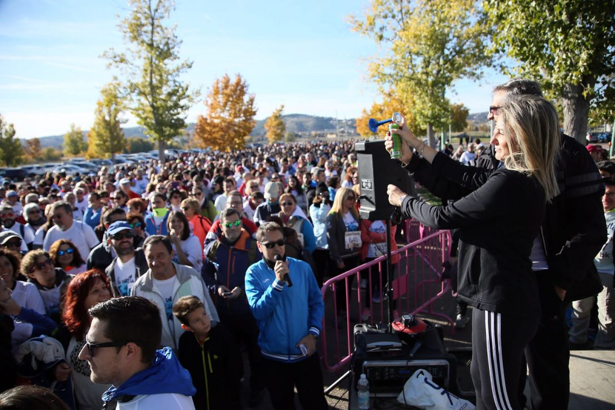Milagros Tolón participa en 'La Vuelta del Tajo' junto a más de 5.000 toledanos que reclaman al Gobierno el cese de los trasvases