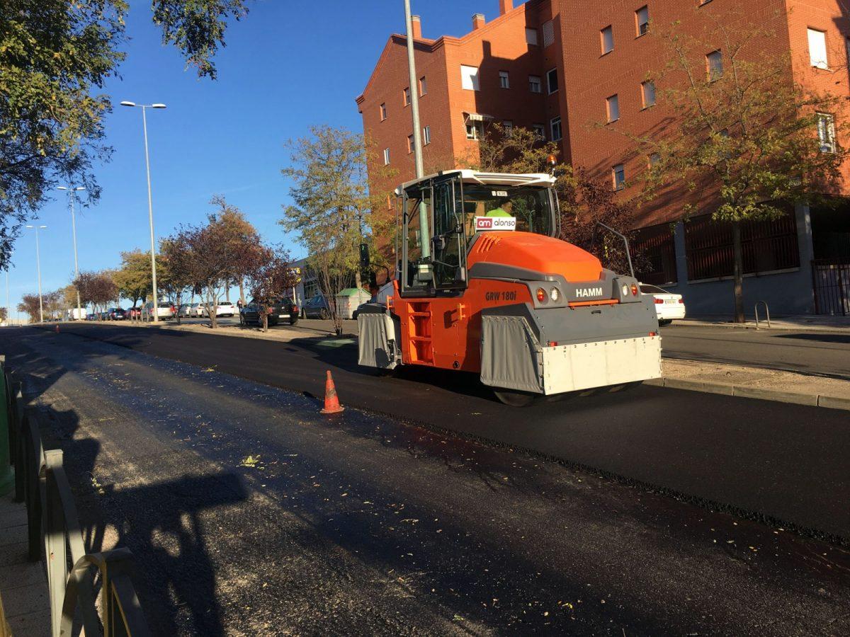 Mañana comienzan en el barrio de Valparaíso los trabajos de señalización de las obras del Plan de Asfaltado
