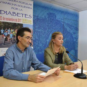 Toledo se suma al Día Mundial de la Diabetes con una carrera y marcha solidarias e iluminando de azul monumentos emblemáticos