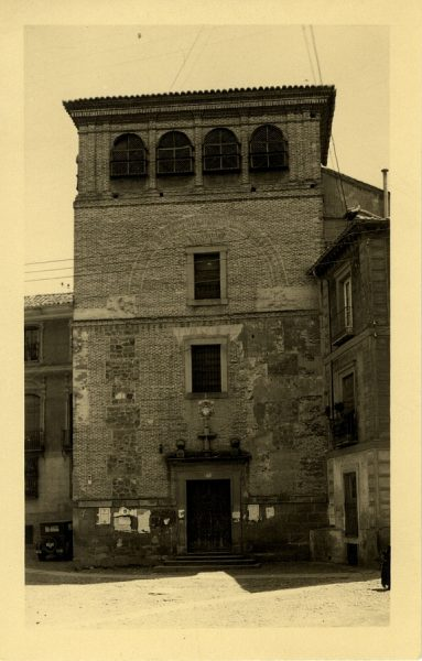 01 - Fachada de la iglesia del convento de las Gaitanas