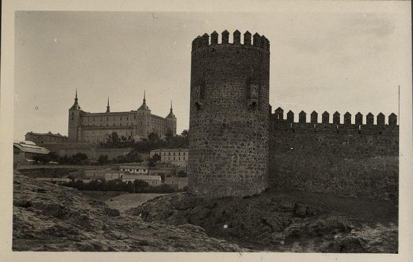 02 - Vista del castillo de San Servando y el Alcázar