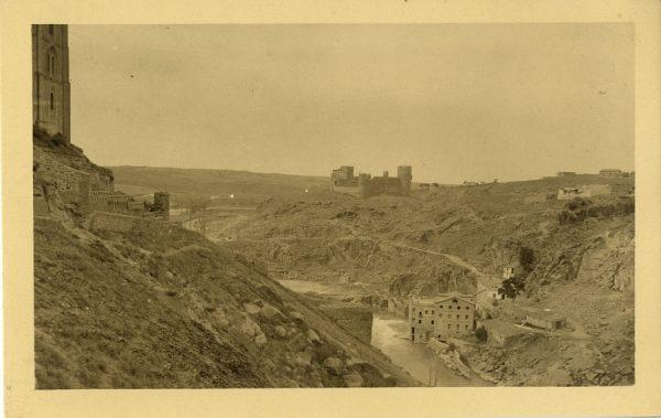 04 - Vista del castillo de San Servando
