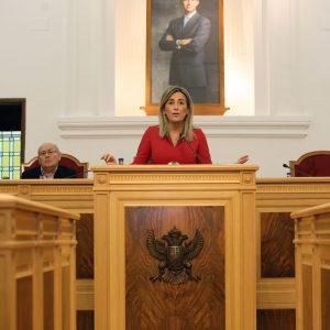 a alcaldesa pide más implicación al Estado y solicita su compromiso con Toledo en infraestructuras, patrimonio y el Tajo