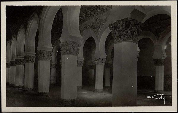 1 - Interior de Santa María la Blanca