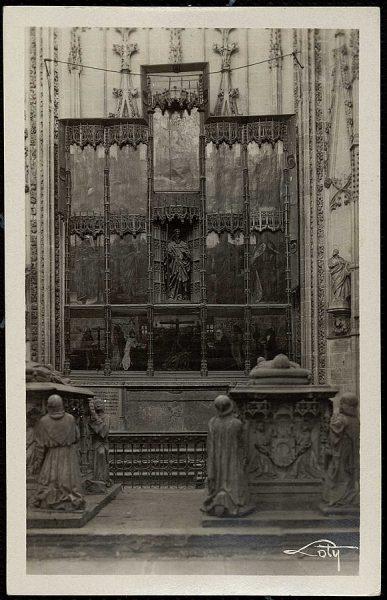 1 - Panteón de don Álvaro de Luna y capilla de Santiago