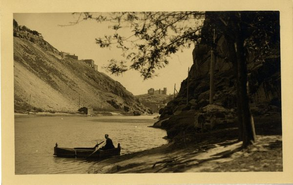 14 - Vista del río Tajo y el castillo de San Servando