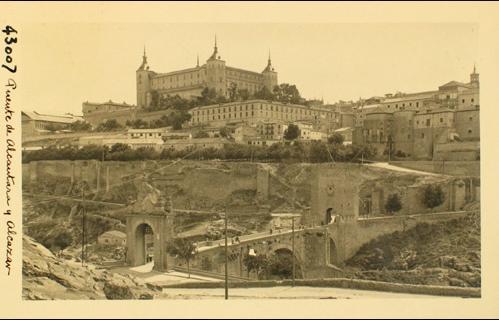 43007_ADPT - Alcázar y puente de Alcántara desde San Servando