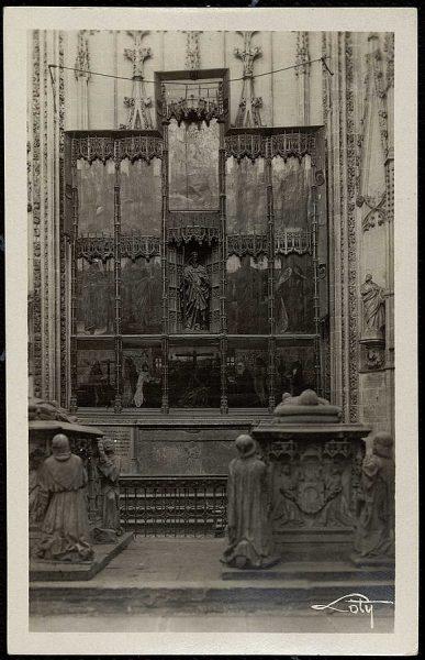 43121_AMT - Catedral. Panteón de don Álvaro de Luna y capilla de Santiago
