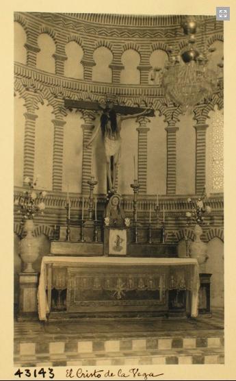 43143_ADPT - Altar e imagen del Cristo de la Vega