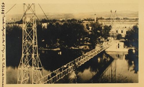 43148_ADPT - Puente colgante sobre el Tajo en la Fábrica de Armas