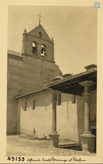 43155_ADPT - Exterior del convento de Santo Domingo el real y Espadaña de su iglesia